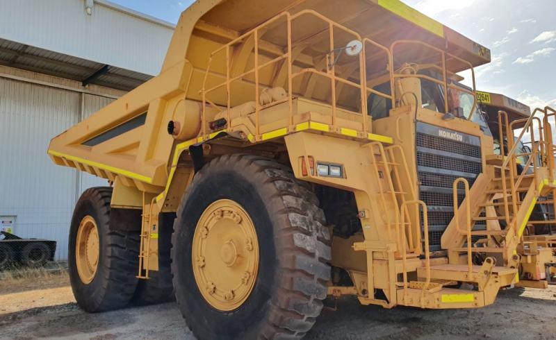 IMAGE_Komatsu_HD785-5_Truck_Dismantling